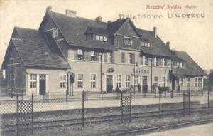 Dworzec do 1914r