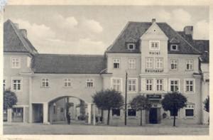 Widok hotelu Reichshof ( WKRA)