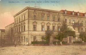 Hotel wkra do 1914r.
